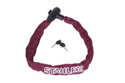 Řetězový zámek Stahlex 780 fialový