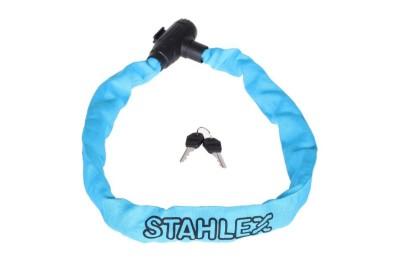 Řetězový zámek Stahlex 780 modrý